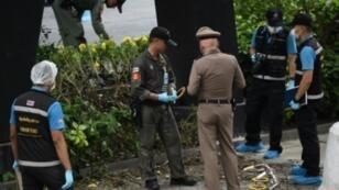 انفجار قنبلتين صغيرتين في بانكوك الجمعة تزامنا مع انعقاد قمة آسيان الإقليمية