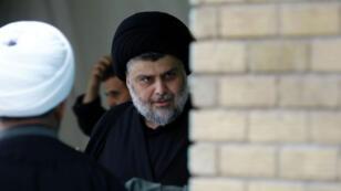 Le chef religieux irakien Moqtada al-Sadr à Najaf, le 18 octobre 2016.