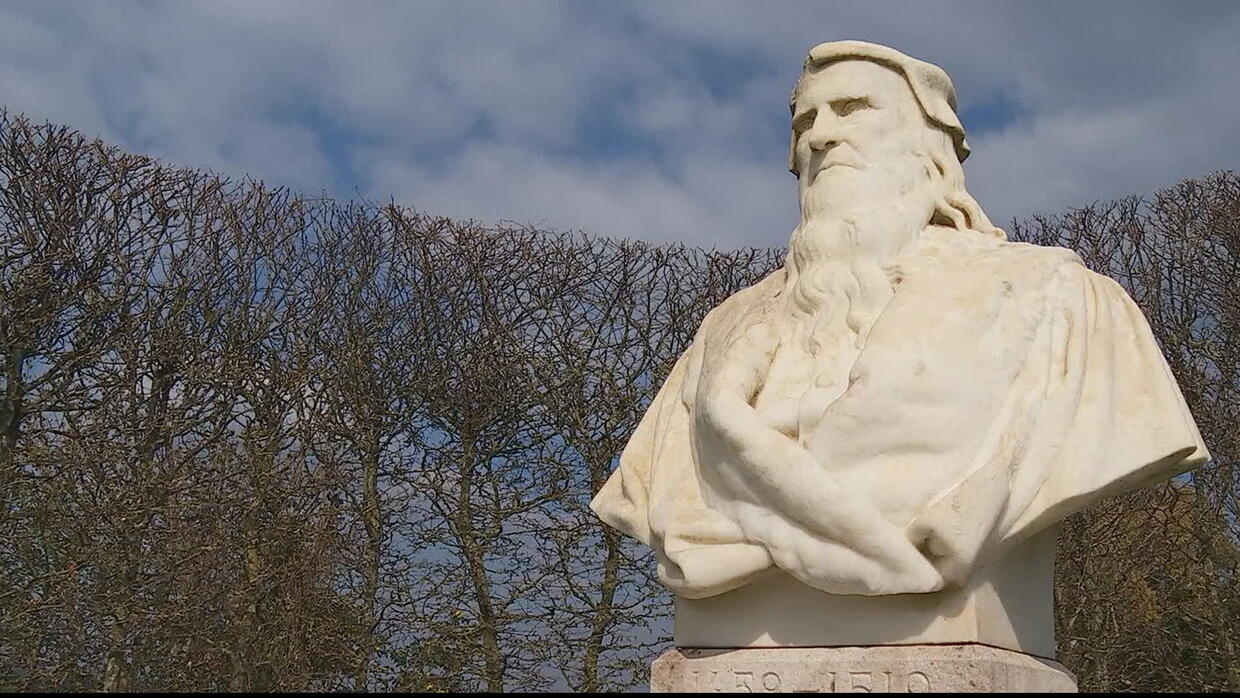 You are here - Retracing the epic journey of Leonardo da Vinci, from Italy to France