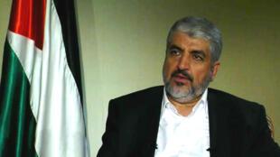 Le chef en exil du Hamas palestinien, Khaled Mechaal.