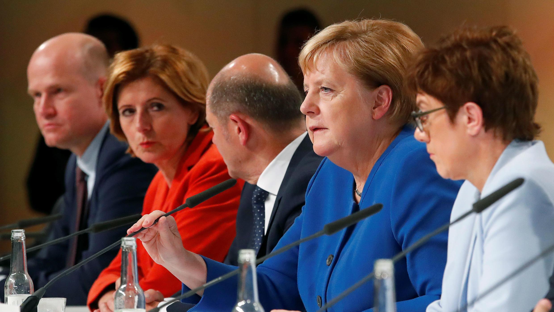 La canciller, Angela Merkel, anunció las medidas que toma Alemania para enfrentar la crisis climática. 20 de septiembre de 2019.