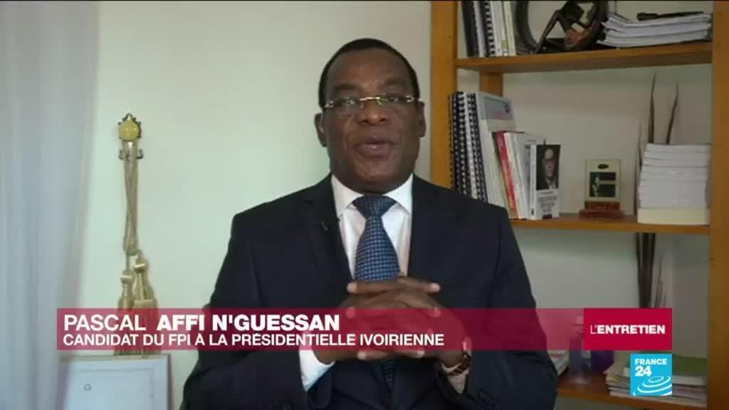 Pascal Affi N'Guessan entretien Côte d'Ivoire