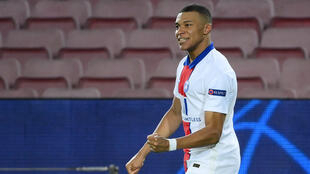 Kylian Mbappe is the second player to score a Champions League hat-trick against Barcelona at the Camp Nou after Andriy Shevchenko