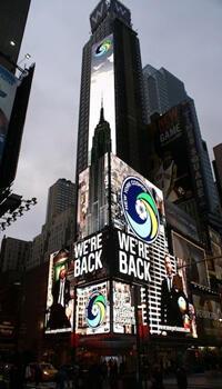 """""""Eric le Rouge"""" à Times Square"""