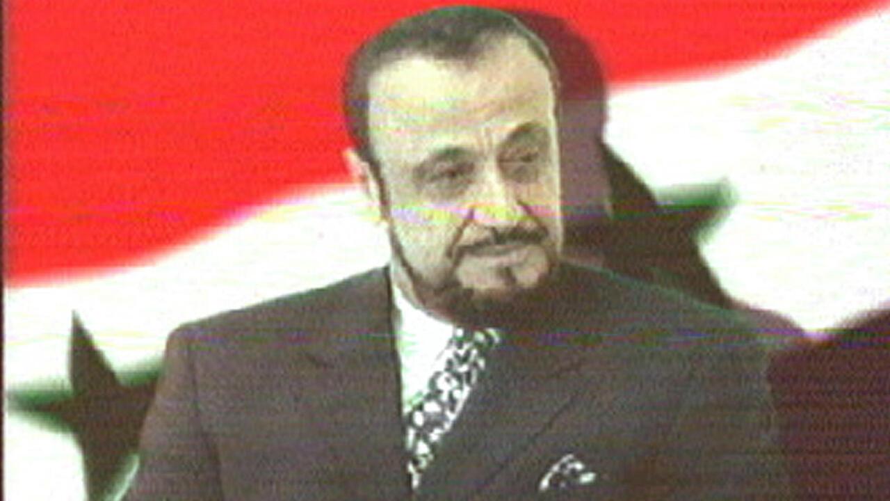 Une photo de Rifaat al-Assad datant de juin 2000.