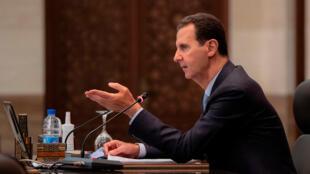 Bashar Al Assad presidenciales
