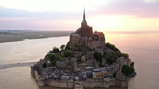 Le Mont Saint-Michel, le 23 avril 2020