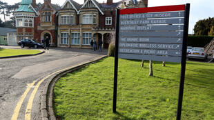 The codebreakers at Bletchley Park in central England are famous for having helped break the Germans' Enigma code during World War II