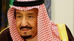 Saudi Arabia s King Salman bin Abdulaziz in Riyadh Saudi Arabia January 14 2019 REUTERS