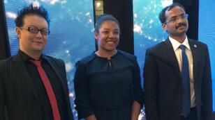 Trois des 18 chercheurs sélectionnés étaient présents à Paris, lors de l'annonce des lauréats, le 11 décembre.