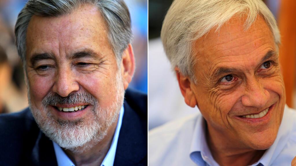 Alejandro Guillier y Sebastián Piñera se enfrentan por la Presidencia de Chile.