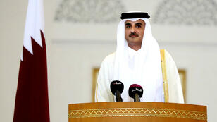 أمير قطر الشيخ تميم بن حمد آل ثاني.