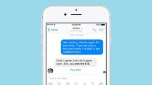 Des messages sont automatiquement générés par Facebook pour rappeler vos amis à l'ordre côté portefeuille.