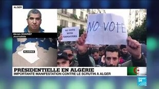 2019-12-12 15:02 Présidentielle en Algérie : Taux de participation de 7,92% en fin de matinée (officiel)