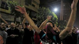 صورة من مظاهرات الجمعة في القاهرة. 2019/09/20.