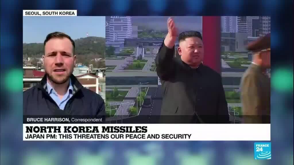 2021-03-25 08:11 North Korea launches suspected ballistic missiles