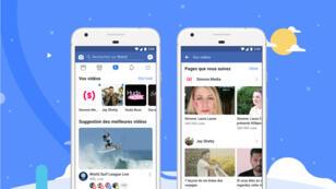 Watch, la nouvelle plateforme vidéo de Facebook, disponible en France dès le 29 août 2018.
