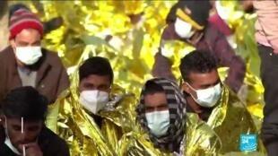2021-05-11 14:10 Afflux de migrants à Lampedusa : plus de 2 000 arrivées sur l'île italienne