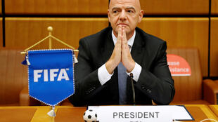 Infantino Vienna ceremony Reuters