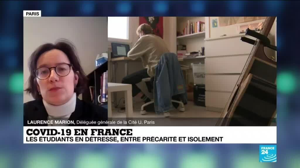 2021-01-26 13:19 Covid-19 en France : les étudiants en détresse, entre précarité et isolement