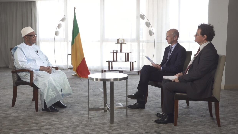Mali's president admits to holding talks with senior jihadist leaders