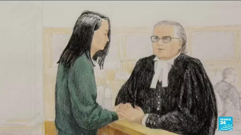 2021-08-19 13:13 Canada :  fin des audiences d'extradition vers les Etats-Unis de la directrice financière de Huawei