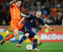 Iniesta, le héros de toute l'Espagne