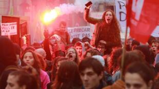كان حضور الطلاب في الشارع في صلب حركة الاحتجاج الاجتماعية