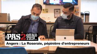 Angers : La Roseraie, pépinière d'entrepreneurs
