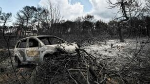 In July's disaster in Greece, local residents received no warning and many passing drivers were mistakenly diverted into the fire's path and died trapped