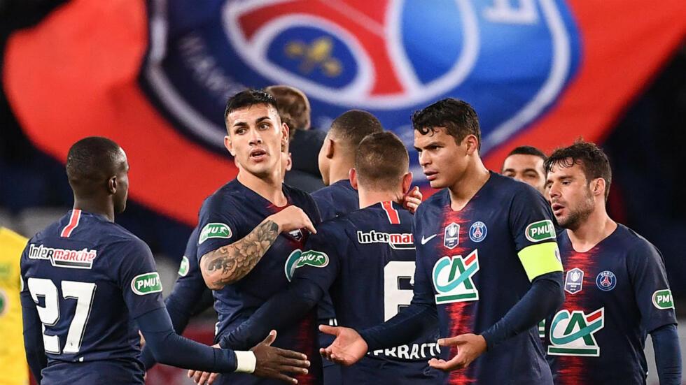 big sale 5e125 9816d Paris Saint-Germain crowned champions of France's Ligue 1 ...
