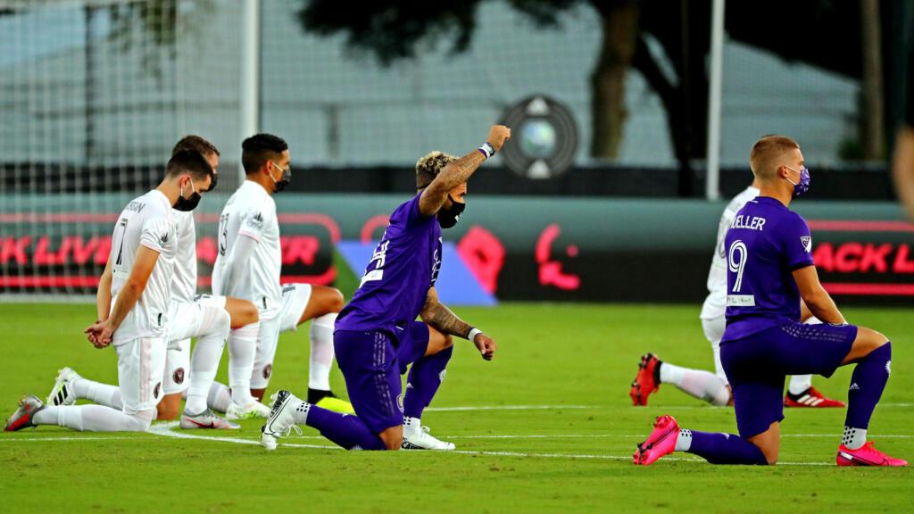 Football : malgré le Covid-19, reprise du championnat nord-américain sur fond d'antiracisme
