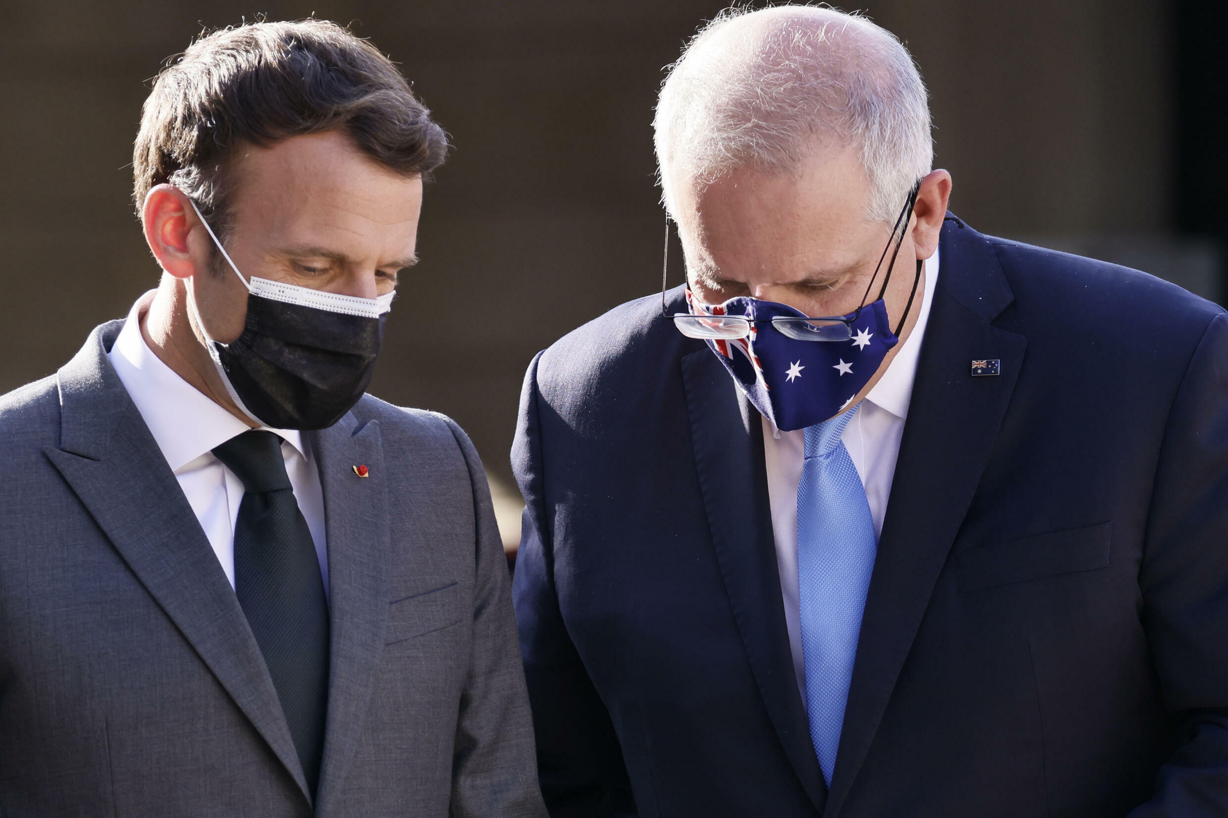 Macron has not scheduled a similar call with Australian Prime Minister Scott Morrison, an Elysee official said