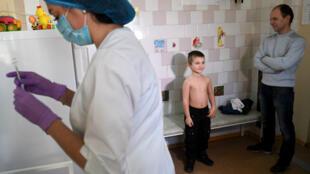 53000cas de rougeole ont été enregistrés en Ukraine.