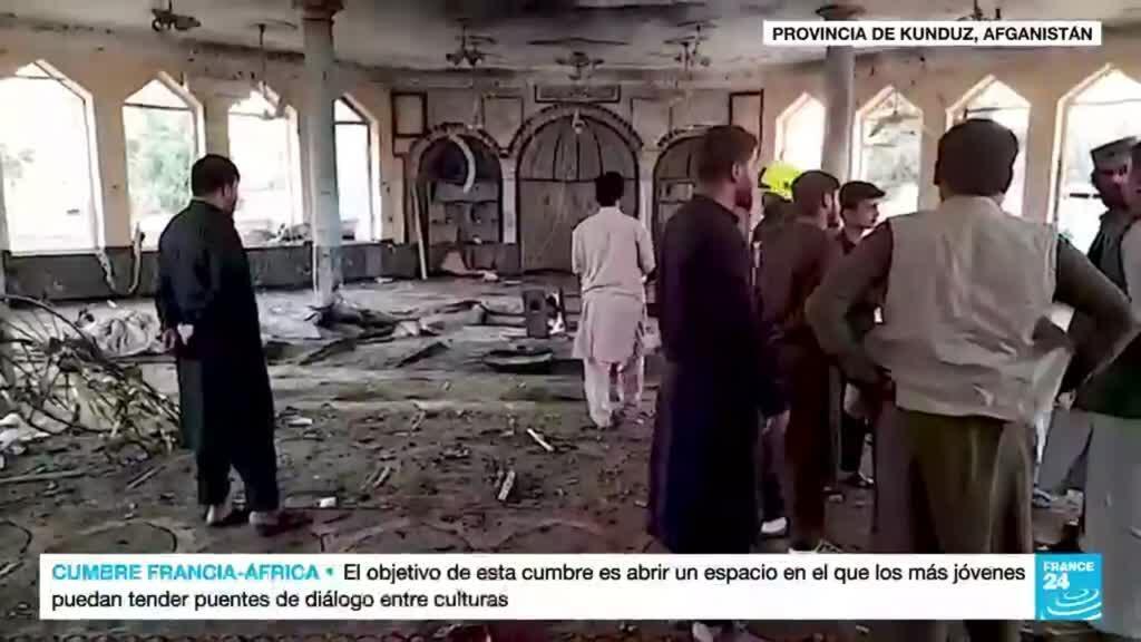 2021-10-08 19:06 Estado Islámico reivindica ataque a una mezquita chií en la provincia afgana de Kunduz