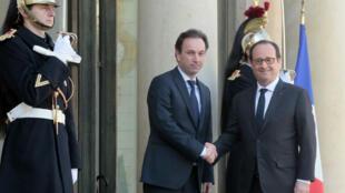 """Khaled Khoja a été reçu par François Hollande jeudi à l'Élysée. Le président français a déclaré que Bachar Al-Assad n'était pas """"un interlocuteur crédible""""."""