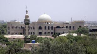 Le palais présidentiel, à Khartoum.