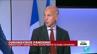 2020-05-07 17:32 France's gvt to ease Covid-19 lockdown measures but 'not a lot is being relaxed'