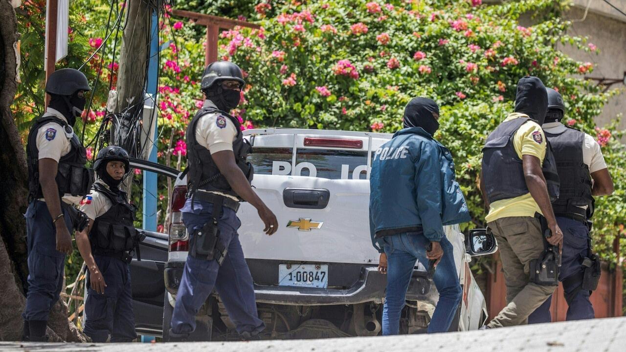 Haiti police Port au Prince