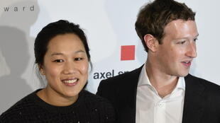 Facebook founder and CEO Mark Zuckerberg and his wife Priscilla Chan, seen here in 2016, are donating some $400 million to help local US election administrators
