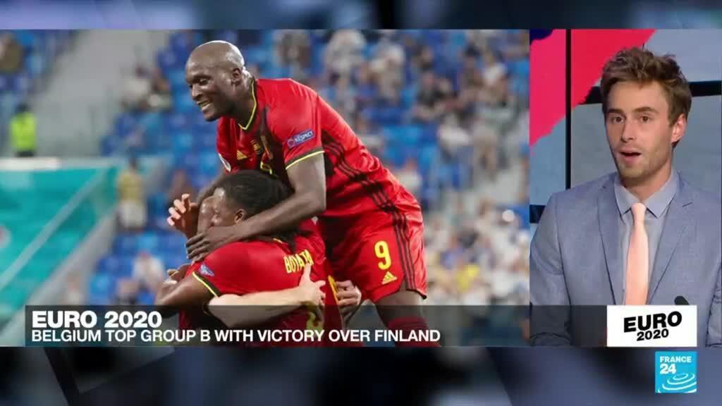 2021-06-21 23:49 Euro 2021: Belgium wins 3rd straight at Euro 2020, beats Finland 2-0