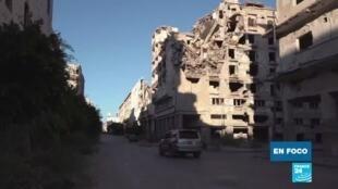 La lenta reconstrucción de Benghazi