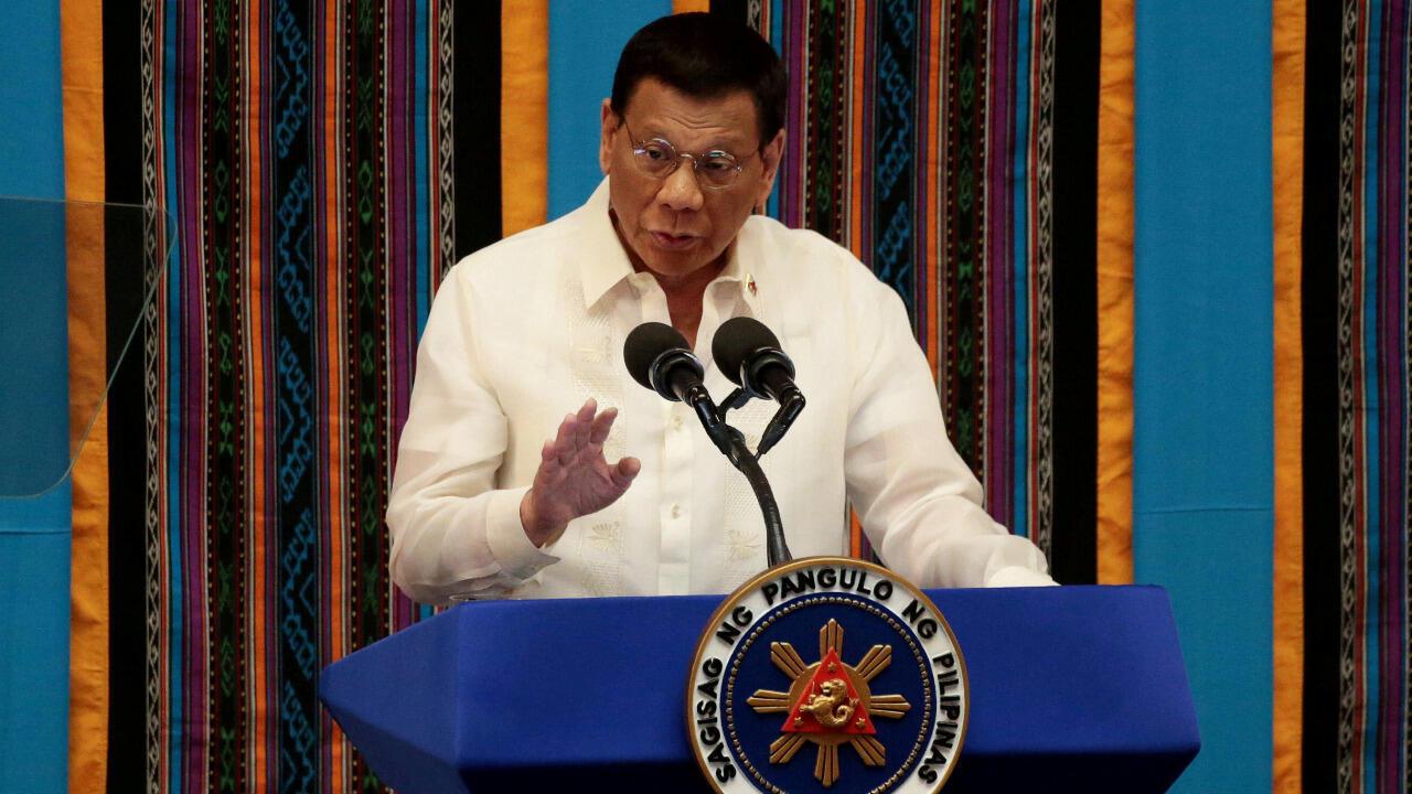 PHILIPPINES - Duterte 020420