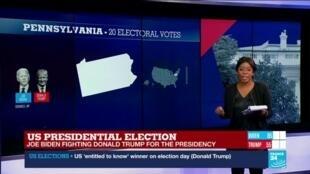 2020-11-04 02:06 Biden, Trump score wins, but battlegrounds too early to call