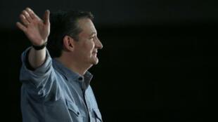 Ted Cruz, dans l'Iowa, le 31 janvier 2016.