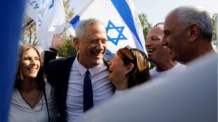 Benny Gantz est de nouveau au coude-à-coude avec son adversaire Benjamin Netanyahu.