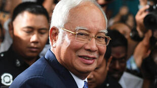 Najib and his inner circle are accused of plundering sovereign wealth fund 1MDB