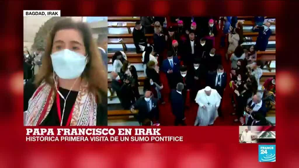 2021-03-05 16:03 Informe desde Bagdad: el esquema de seguridad en la visita del papa Francisco a Irak