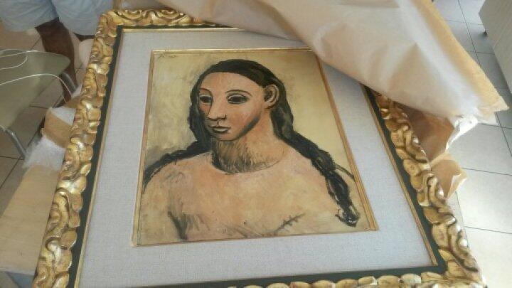"""Le tableau """"Tête de jeune fille"""" a été jugé inexportable d'Espagne en raison de son caractère unique."""