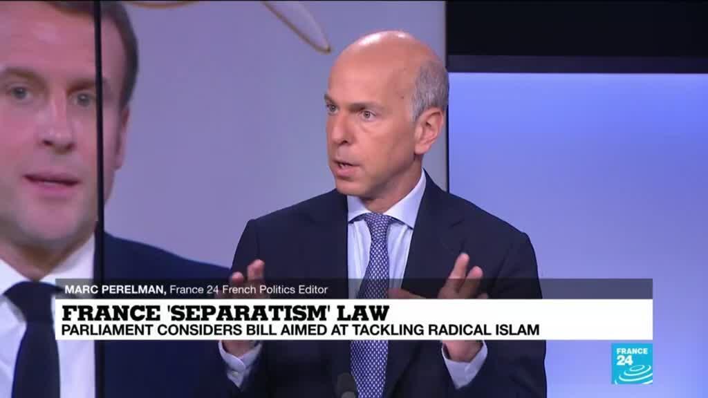 2021-02-01 12:09 France separatism law: Parliament considers bill aimed at tackling radical Islam